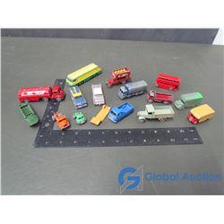 (15) Lesney Toys w/ Steel Wheels (Very Old)