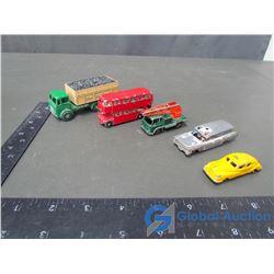 (2) Matchbox Steel Wheeled Toys; Budgie Coal Truck; Budgie Crane Truck