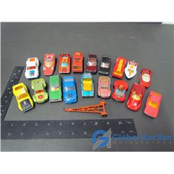 Assorted Matchbox Wide Tired 60's and 70's Cars & Trucks