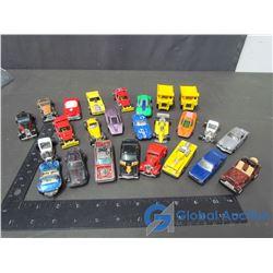Assorted Hot Wheels Cars & Trucks