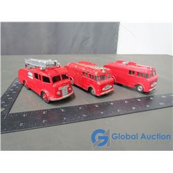 Dinky Meccano Fire Trucks (BID PRICE TIMES 3)