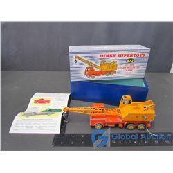 Dinky Toys 20 Tonne Crane w/ Original Box; Operators & Advertisement