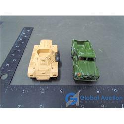 Dinky Cargo Truck & Scout Car (BID PRICE TIMES 2)