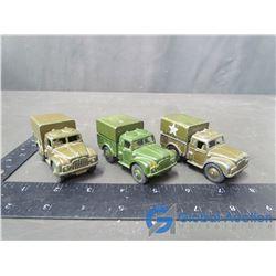 Dinky Cargo Trucks (BID PRICE TIMES 3)