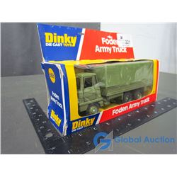 Dinky Foden Army Truck in Box