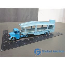 Dinky Car Hauler Truck & Trailer