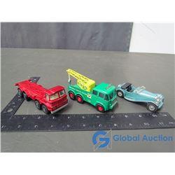 (3) Matchbox Toys