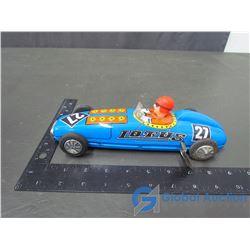 Tin Lotus Wind Up Race Car