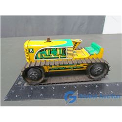 Marx #5 Wind UP Tin Track Tractor