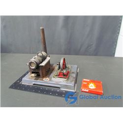 Working Model Stationary Steam Engine