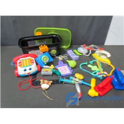 Toy Medical Equipment & Fisher-Price Phone