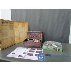 Unused Harry Potter Hogwarts Battle & Spin & Trap Marble Game