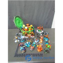 Assorted Skylanders Toys