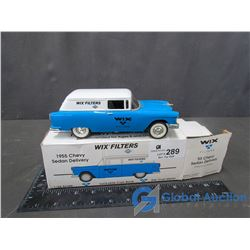 1955 Chevy Delivery Sedan Die Cast Bank (In Box)