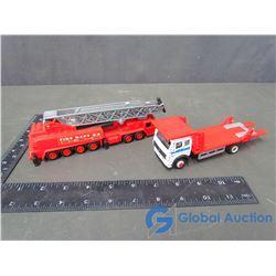 Pumper Fire Truck & Car Hauler