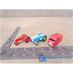 (3) Lesney Metal Miniature Toys