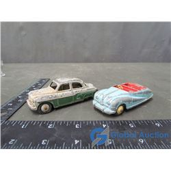 Dinky Meccano Cars (BID PRICE TIMES 2)