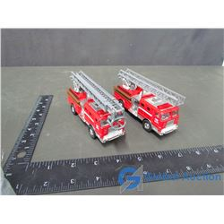 (2) Toy Fire Trucks