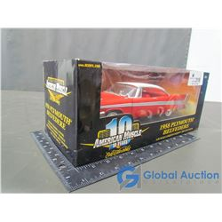 1958 Plymouth Belvedere Die Cast Model 1:18 Scale