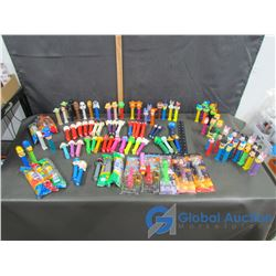 Very Large Assortment of PEZ Dispensers