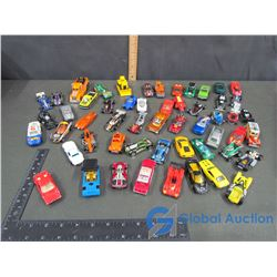 Large Assortment of Hot Wheels Cars