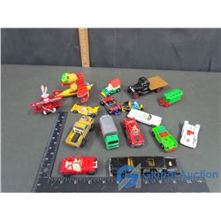 Assortment of (5) Majorette; (4) Corji; (3) ERTL & (4) Snoopy Vehicles