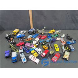 Large Assortment of Toy Vehicles