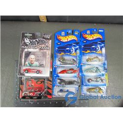 (10) NIB Hot Wheels - Inclues Hall of Fame Legend Zora Arkus-Duntov & Nascar Champion Mark Martin