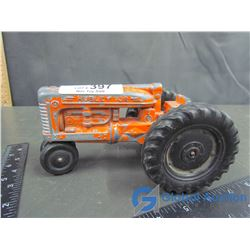 Vintage Hubley Jr. Row Crop Die Cast Tractor; 1:16 Scale