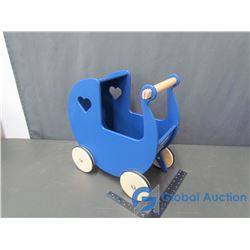 Moover Wooden Baby Walker/Doll Carriage