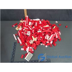 Red Plastic Building Blocks