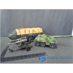 (3) GI Joe Toy Vehicles