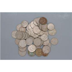 50 Russian Kopeks coins