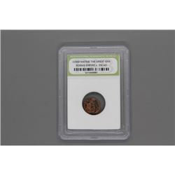 Graded Roman coin Constantine 330 AD