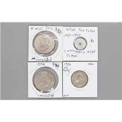 4 USA coins