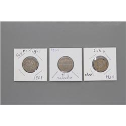 3 Rare World coins