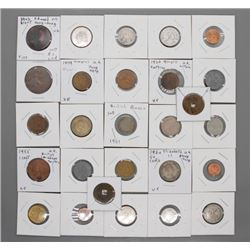27 World coins