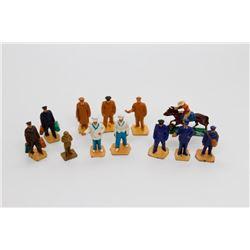 Various Miniature Figurines
