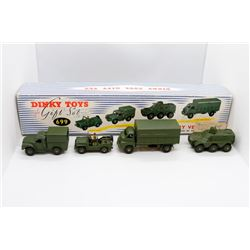 Military Vehicles Gift Set (Includes Austin Champ – 674, 1-Ton Cargo Truck – 641, Armoured Personnel
