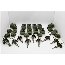 7 Units Consisting of Personnel Carrier, Ammunition Trailer and Cannon, Armor Personnel Carrier, 2 A