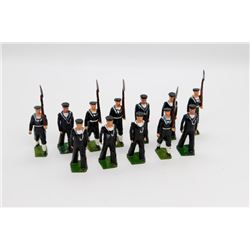 Navy Soldiers with Movable Arms