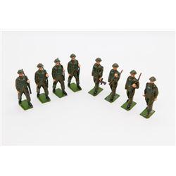 British Infantry Full Battledress – set of 8