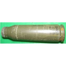 BRADLEY FIGHTING VEHICLE SHELL (NOVELTY ITEM) *25MM* (FIRED-NO PROJECTILE)