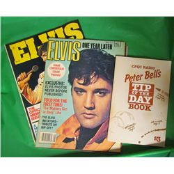 2 ELVIS MAGAZINES AND PETER BELL'S TIP OF THE DAY