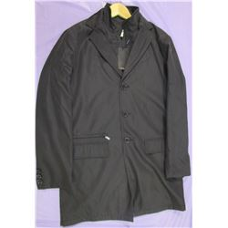 RIVIERA POLYESTER FALL/WINTER COAT (HAS REMOVABLE VEST) *SIZE 48* (NOS NEVER WORN)