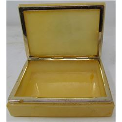JEWELERY BOX (HANDCRAFTED ALBASTER MADE IN ITALY)