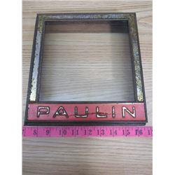 "PAULIN CRACKER COVER (9"" X 9"")"