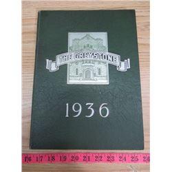 UNIVERSITY OF SASKATCHEWAN YEARBOOK (1936)