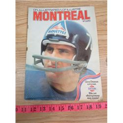 CFL ILLUSTRATED VOLUME #10 (OCTOBER 27, 1974)