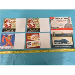 LOT OF FORD BROCHURES, ETC.